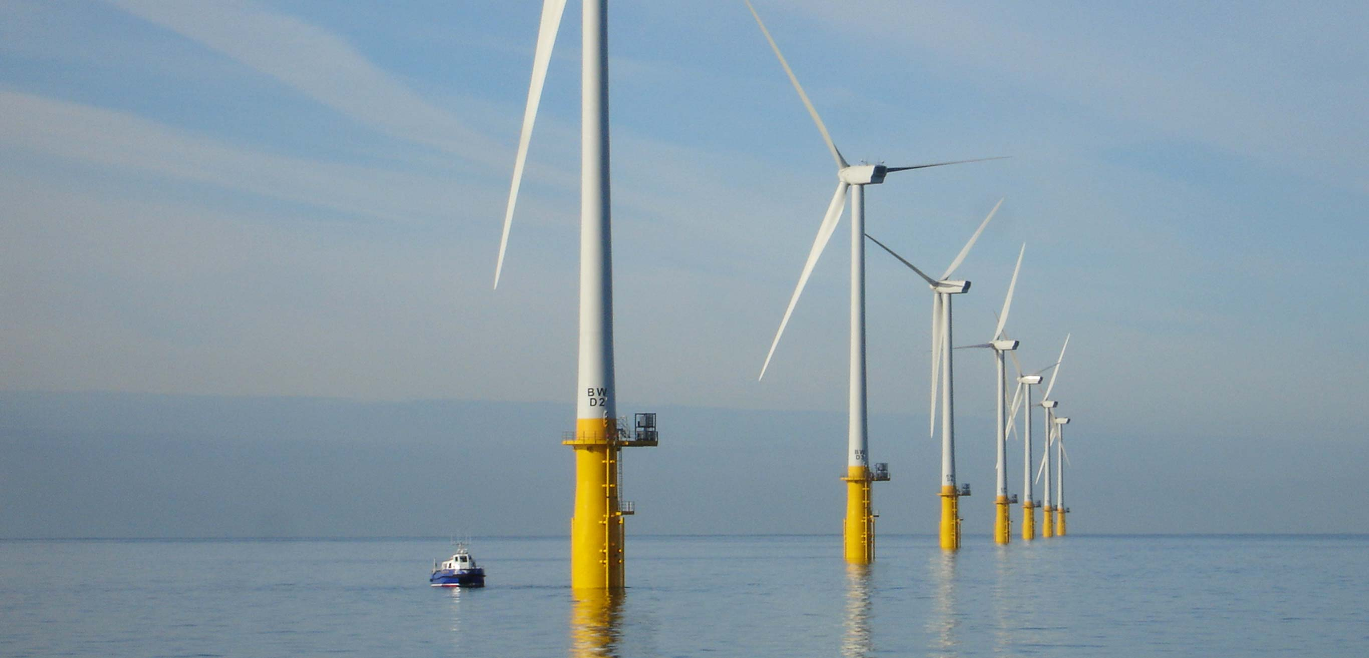 Offshore wind farm for personnel