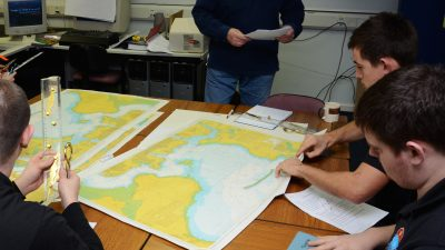 studying offshore survey wind turbine training