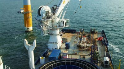 Offshore wind turbine training