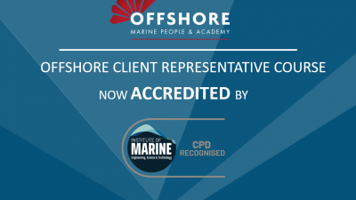 Offshore Client representative course accredited by IMarEST